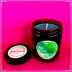 Sea Mist Scented Soy Candle 8 oz